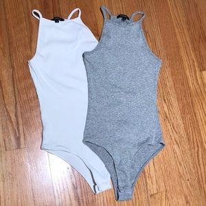 Like new Ambiance set of 2 bodysuits. Size S.